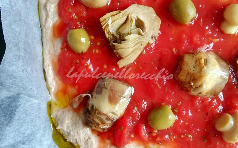PIZZA IN TEGLIA DI GRANI ANTICHI